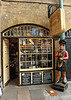 Mullins and Westley Ltd tobacconists shop inside Covent Garden Market London