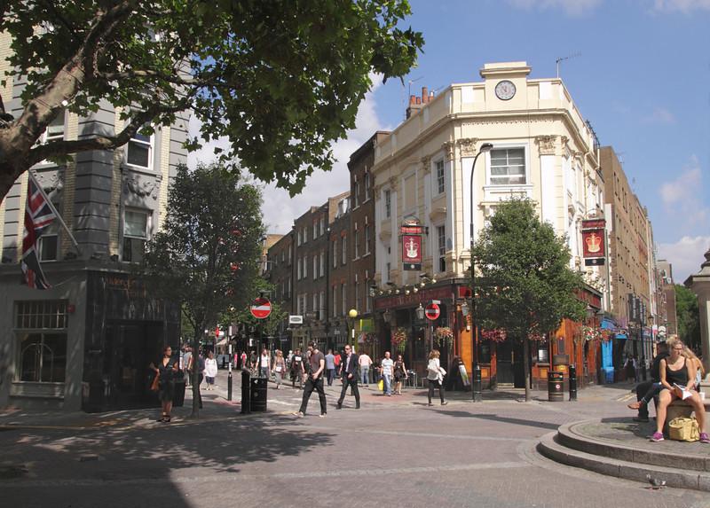 Seven Dials Covent Garden London August 2013