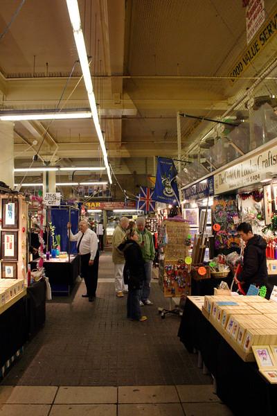 Jubilee Market Hall Covent Garden London November 2008