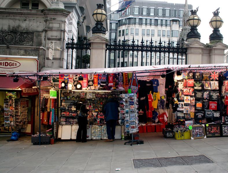 Kiosk Villiers Street Embankment London