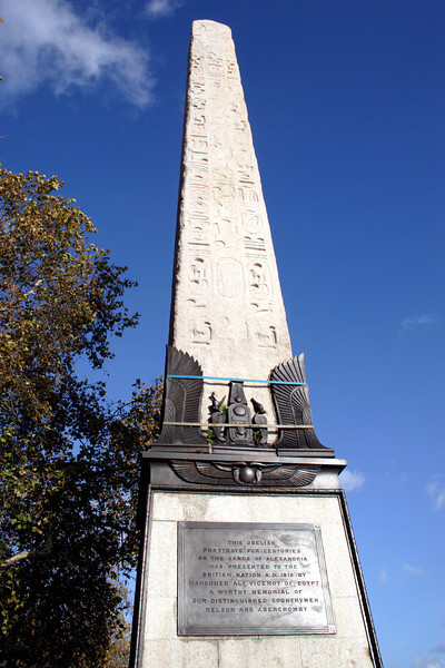 Cleopatras Needle Victoria Embankment London