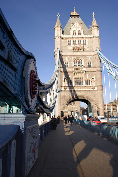 On the Tower Bridge London