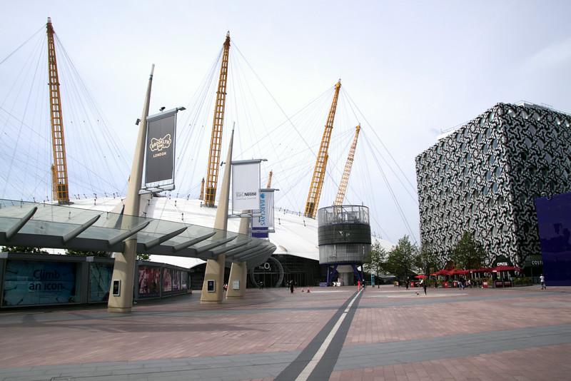 O2 Arena and Ravensbourne College Greenwich Peninsula London