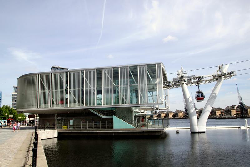 Emirates Air Line Royal Docks Cable Car Terminal London