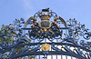 Ornamental Gate to Green Park at Piccadilly London