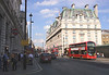 View along Piccadilly London The Ritz Hotel in background July 2016