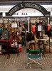 Antiques stall Greenwich Market London