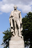 Statue of William IV at Greenwich Park London