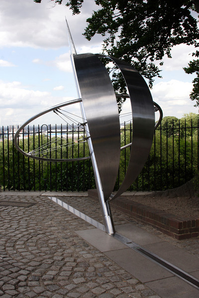 Prime Meridian Line at the Royal Observatory Greenwich London