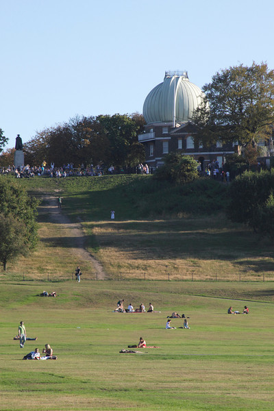 Greenwich Park and the Royal Observatory London
