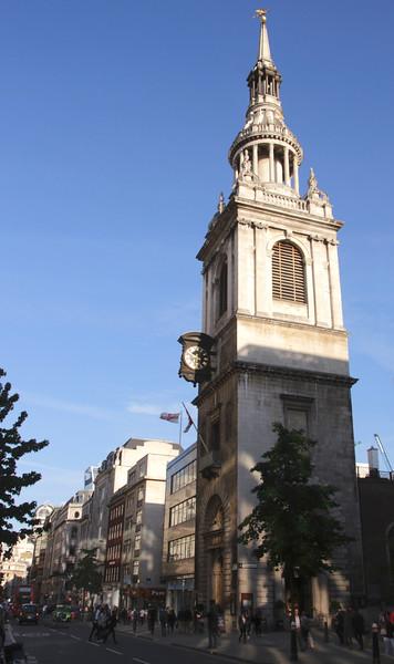 St Mary le Bow Church Cheapside London England