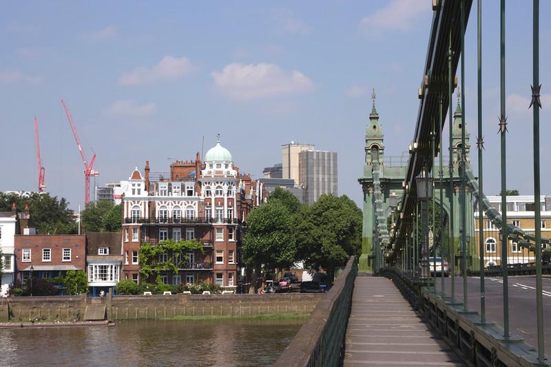 On Hammersmith Bridge London