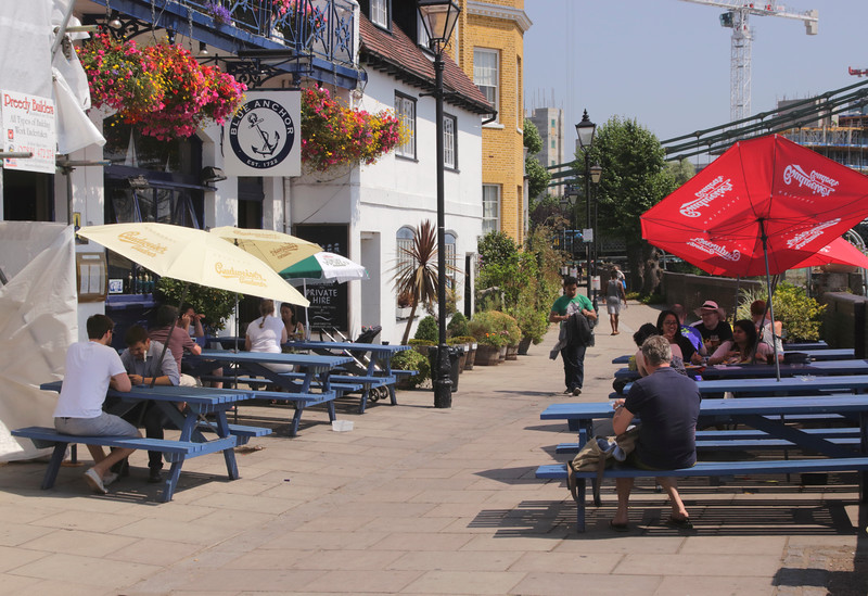Blue Anchor Pub Hammersmith London