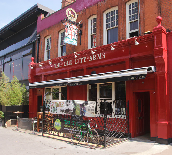 The Old City Arms Pub Hammersmith London