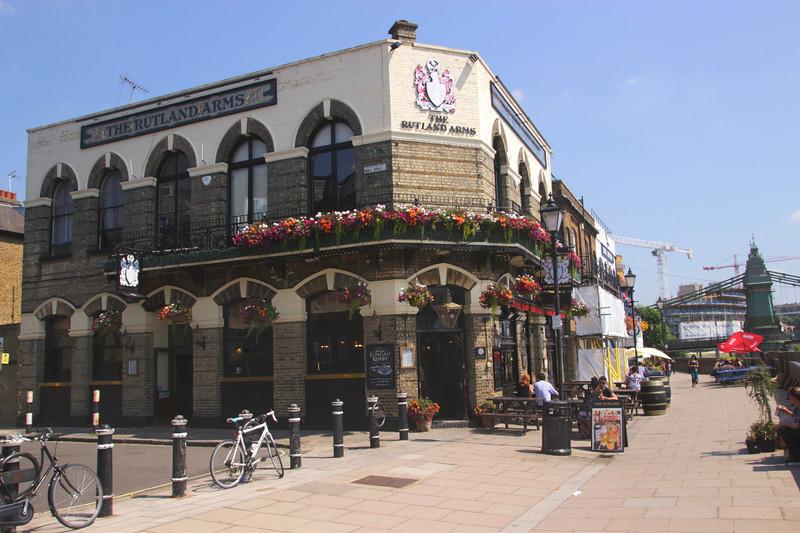 The Rutland Arms Pub Hammersmith London