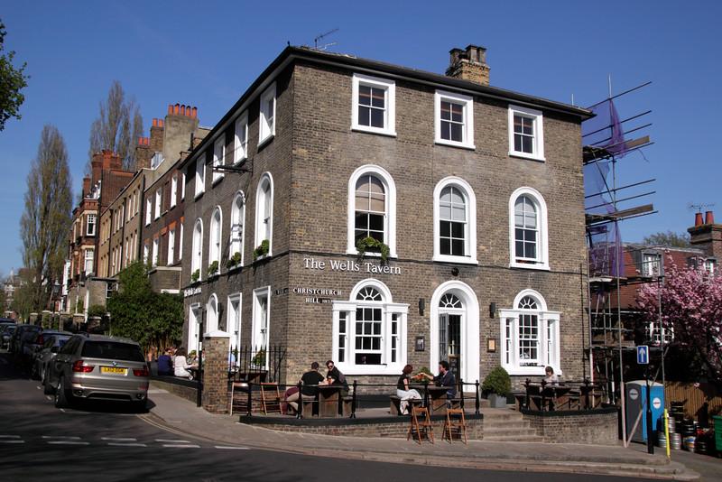The Wells Tavern pub Well Walk Hampstead London