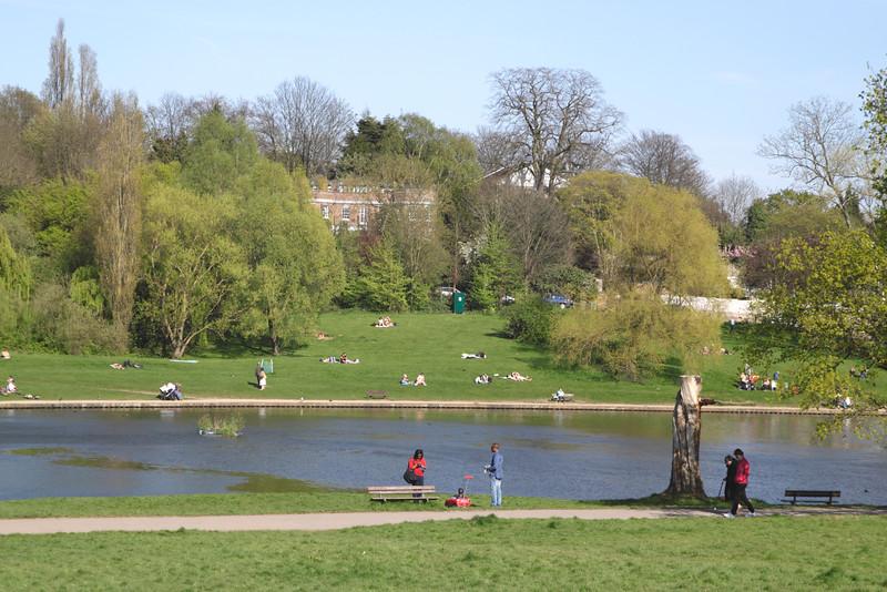 Highgate Pond Hampstead Heath London