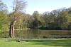 Wood Pond Hampstead Heath London England