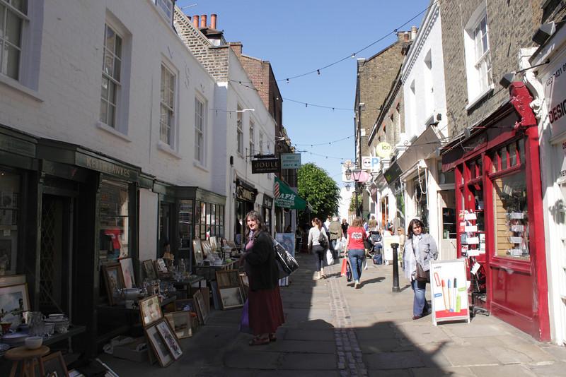 Flask Walk Hampstead London June 2010
