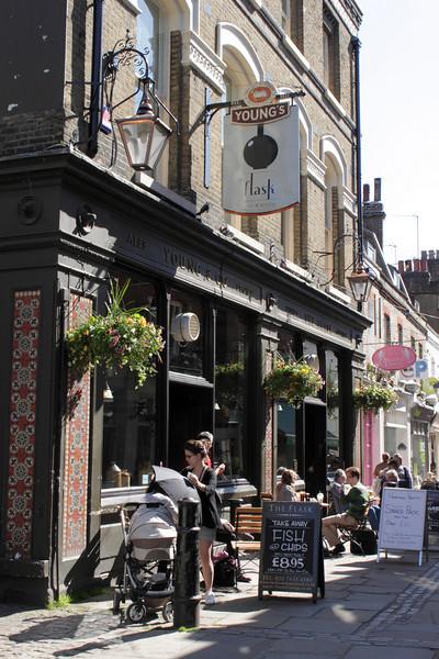 The Flask pub Hampstead London June 2010