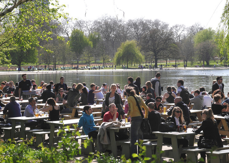 The Serpentine Bar and Kitchen Hyde Park London