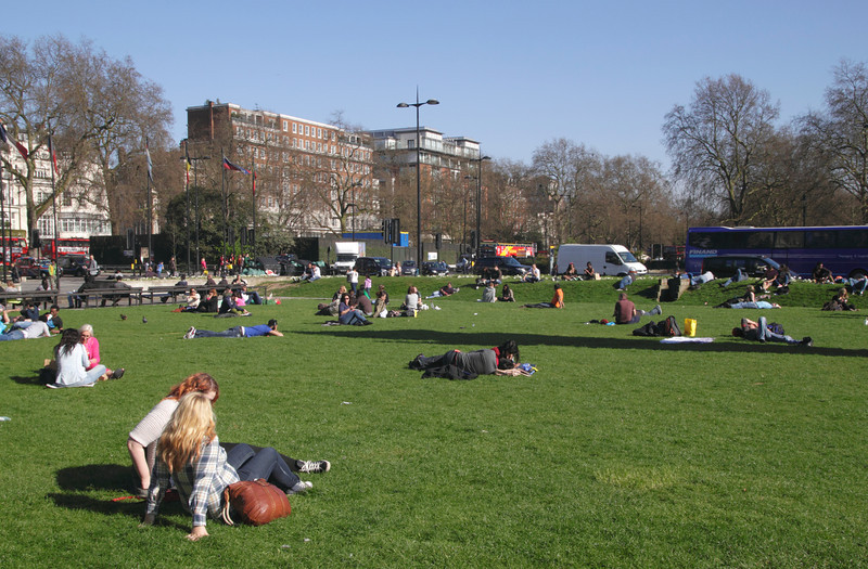 Park by Marble Arch London