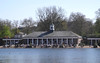 Lido Cafe Bar on The Serpentine Hyde Park London