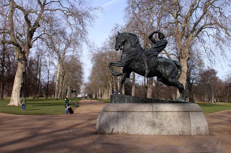 Physical Energy statue Kensington Gardens London