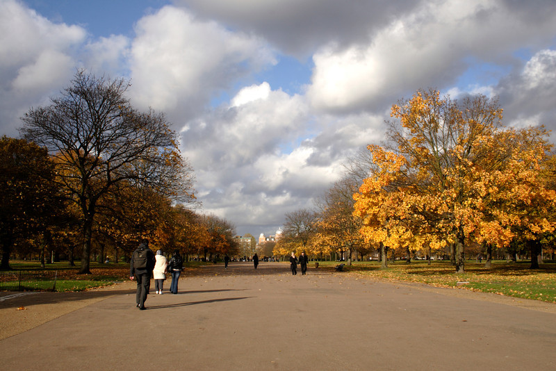 The Broad Walk Kensington Gardens London