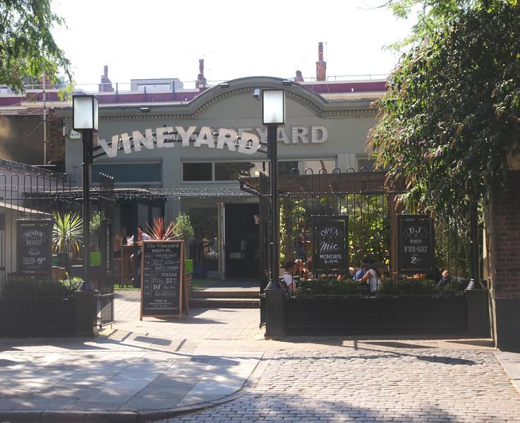 The Vineyard Pub Islington London