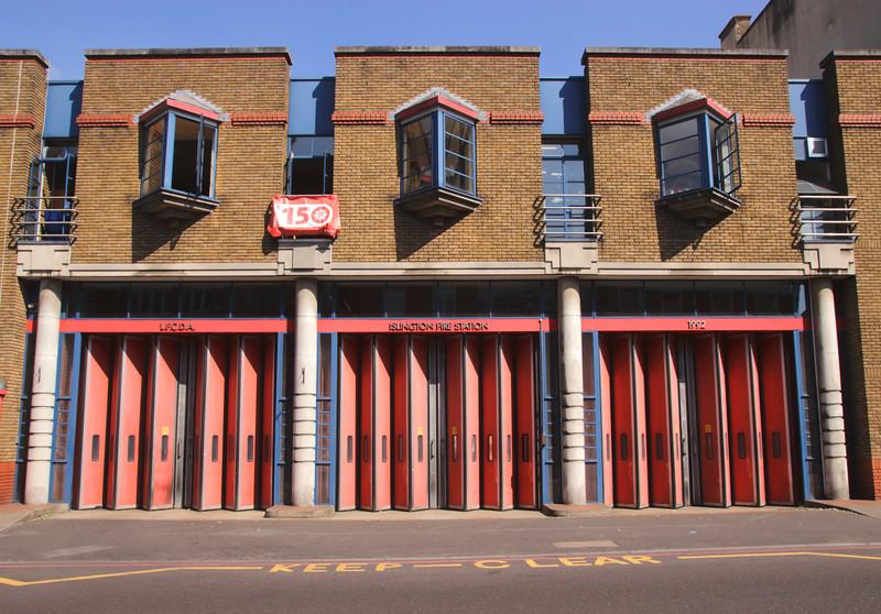 Islington Fire Station London