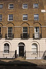 Terraced residential flats at Canonbury Square Islington London