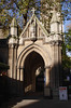 Entrance Gate to St Marys Abbots Church Kensington London