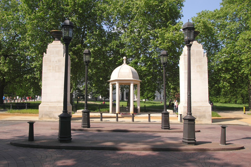 Commonwealth Soldiers War Memorial Constitution Hill London
