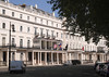 Malaysian High Commission building in Belgrave Square London