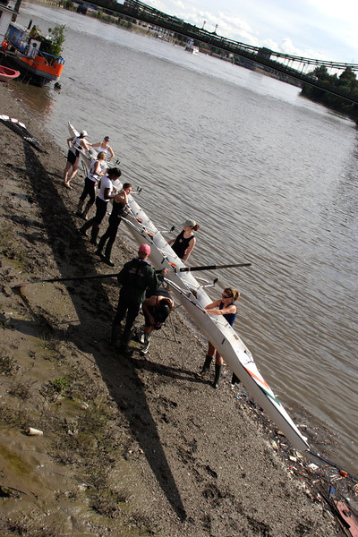 Rowing club at Hammersmith London