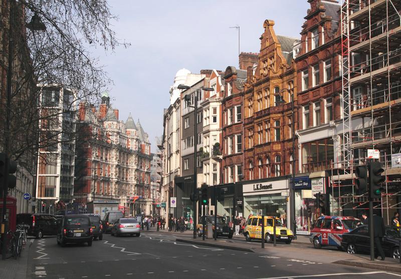 Brompton Road Knightsbridge London