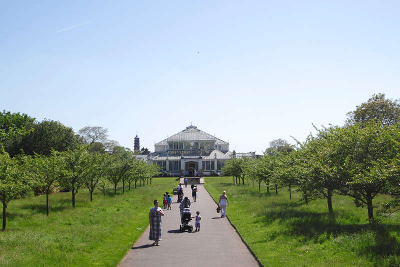 Temperate House Kew Gardens London