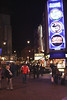 Leicester Square London at night January 2008