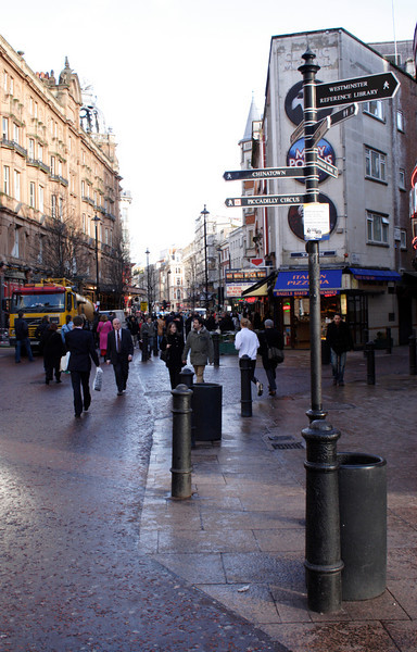 Leicester Square London January 2007