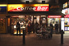 Cafe Rimini Coffee Bar Leicester Square London at night January 2008