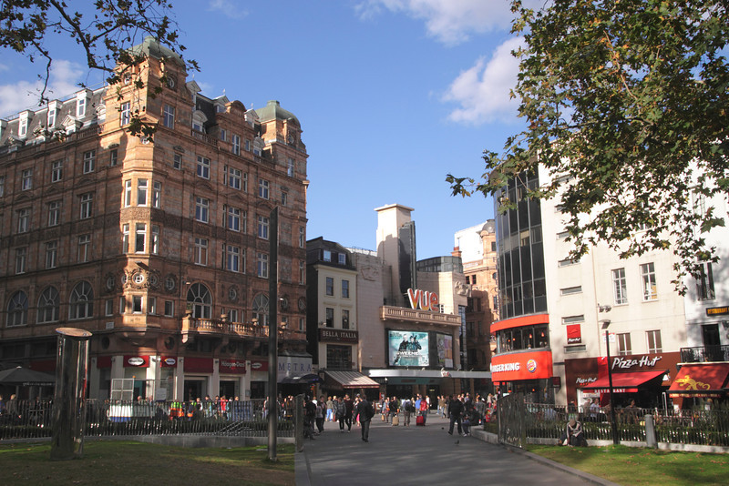 Leicester Square London September 2012