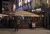 Bella Italia restaurant Leicester Square London at night May 2012