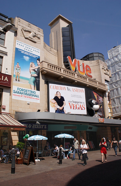 Vue Cinema Leicester Square London May 2008