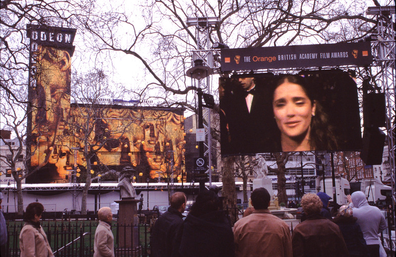 Odeon Leicester Square Bafta awards 2005