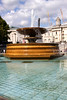 Fountain at Trafalgar Square London