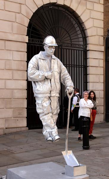Human Statue Covent Garden London September 2017