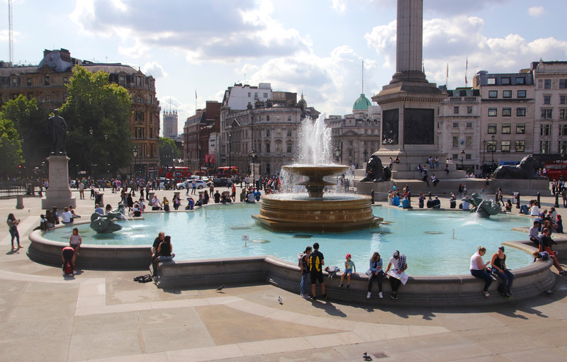 Trafalgar Square London September 2017