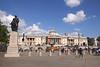 Trafalgar Square and National Portrait Gallery London summer 2017