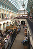 Inside Covent Garden Market London September 2017